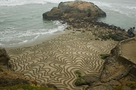 playa painting- contour lines _2 of 4_