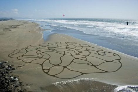 playa painting- squiggles II _3 of 4_