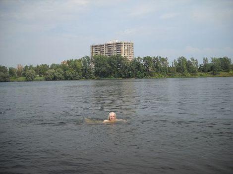 River swim1