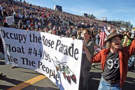 Occupy Rose Parade