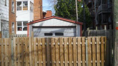 Fence,Garage, Verdun