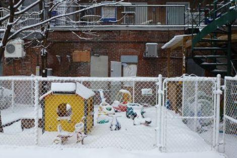 snow,daycare,lane