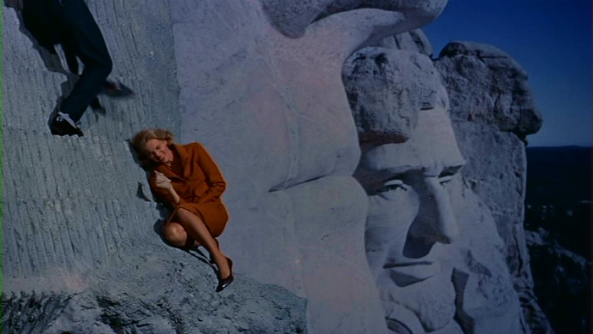 North By Northwest, Mount Rushmore, Night, Cary Grant, Eva Marie Saint