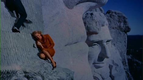 North By Northwest, Mount Rushmore, Night, Cary Grant, Eva Marie Saint
