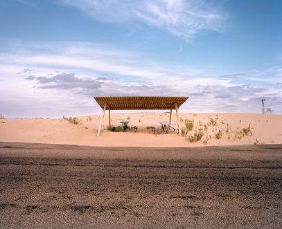 structure,desert, rest stop,Rest Stops : Vanishing Relics of the American Roadside - Ryann Ford