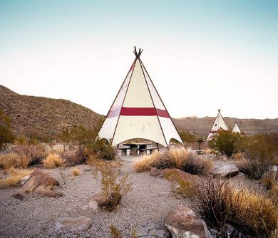 teepee, mountains,Rest Stops : Vanishing Relics of the American Roadside - Ryann Ford