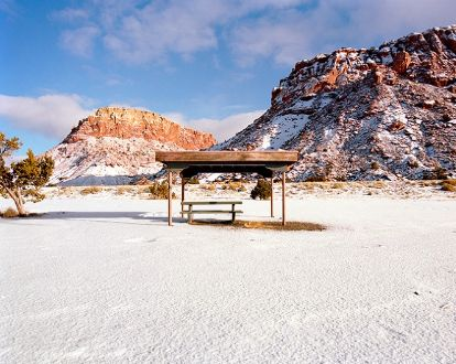 structure, mountains,Rest Stops : Vanishing Relics of the American Roadside - Ryann Ford