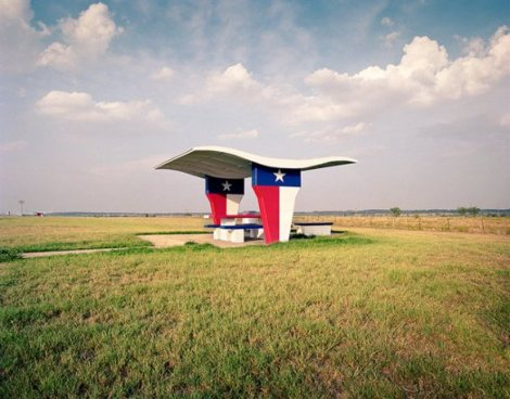 prarie,structure,Rest Stops : Vanishing Relics of the American Roadside - Ryann Ford