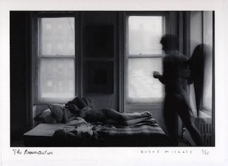 Surreal, sleeping,angel,photograph,Duane Michals