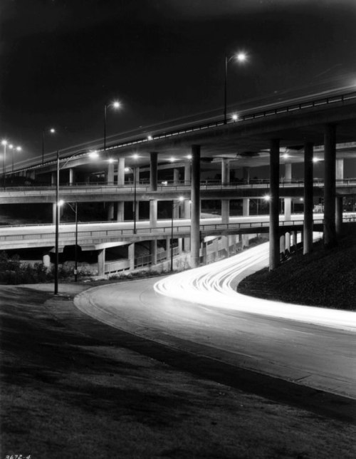 freeway,stack,losangeles,photograph