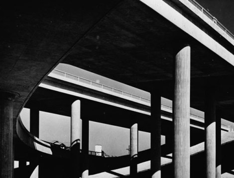 freeway,losangeles,stack,fifties,photograph