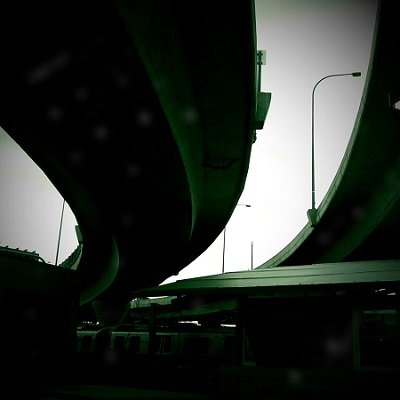 Picture of an overpass at Logan International Airport