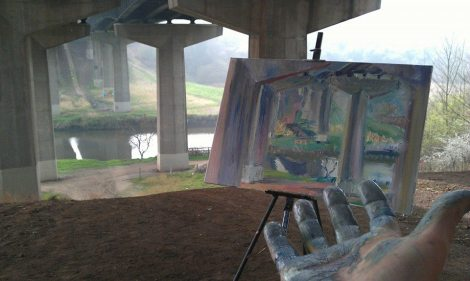 A lesson learned from 'plein air painting'