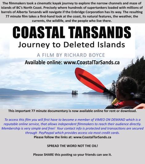 Coastal Tar Sands POster