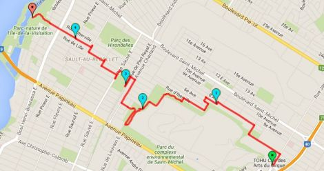 Walk #4 Map