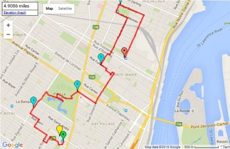 Walk # 10 Map