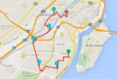 Walk # 11 Map