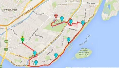 Walk #9 Map