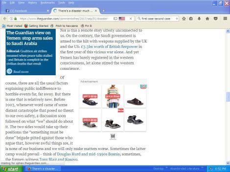I googled sandals